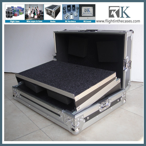 Laptop tray style DIY Flight Cases For Aluminum DJ
