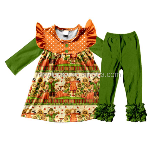 Boutique kids clothing factory price wholesale baby toddler teen girls high quality fancy clothing sets
