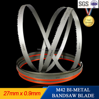 High performance bimetal bandsaw blade