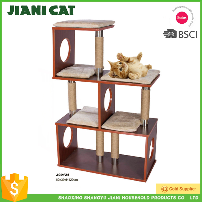 2017 Best Sell Good quality Deluxe Cat Craft Cat Tree