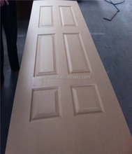 2.7mm plywood doors design/HDF/MDF Moulded Door Skins(fancy,wood,melamine)