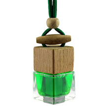 Hanging Glass Pendant Car air Freshener Perfume bottle