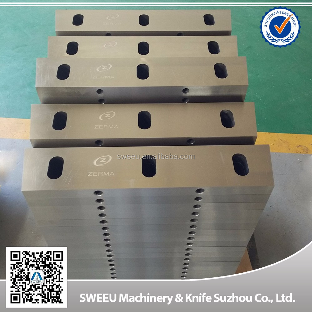 China Rubber/PP/PE Crusher Cutting Blades