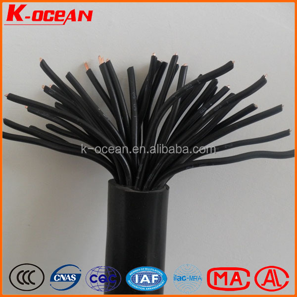 NHKVVR Fire Resistant Stranded Copper Wire PVC Insulated and Sheathed Flexible Control Power Cable