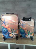 Stock/Stocklot/Overstock/Closeout 4PCS Trolley Luggage