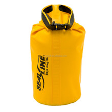 500D PVC Yellow Floating Dry Bag 3L-40L For canoeing kayaking camping