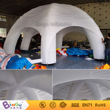 6 Leg Inflatable White Dome Sports Game Tent For Rest
