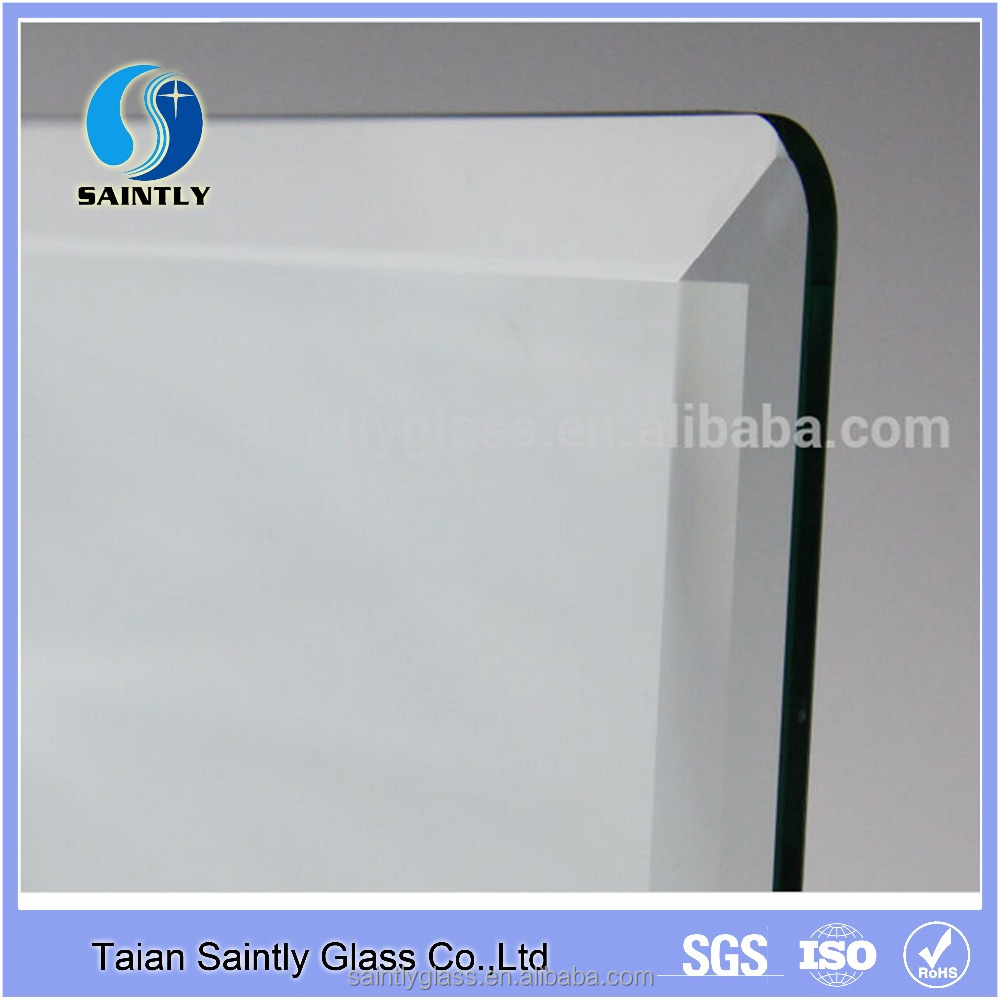 4mm 5mm 6mm 8mm 10mm 12mm beveled tempered glass for homeappliance