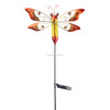 Metal Dragonfly Lawn Stakes for Garden Decoration