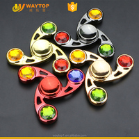 wholesale factory fidget spinner metal rainbow for low price