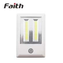 Wholesale Super Bright Portable Wireless Cob Operated Led Night Light