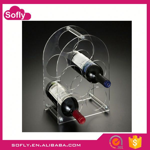 China Lucite Wine Accessories, Wine Holder Table, Diy Wine Rack