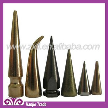Bulk Screw Back Concial Metal Spike for Leather Shoes