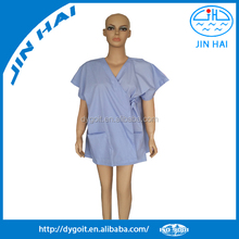 Hospital using well fit cotton medical scrubs