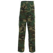 BDU woodland camo army military tactical pants