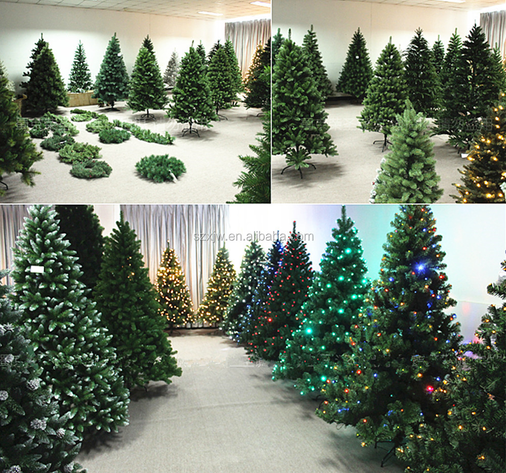 Mini Pine Needle Decorated Artificial Christmas Trees