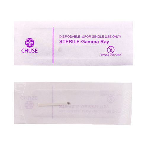 CHUSE Permanent Makeup Eyebrow Tattoo Needle 7 Slope Needles