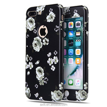 Decorate back cover for mobile phones for iphone 7 TPU Soft Full Protector cover in 360 Degree phone 7 plus