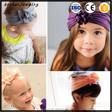 Baby Fold overlapping flowers Big Bow Flower Headband Infant Newborn Girl Toddler Hair head band HA-1243