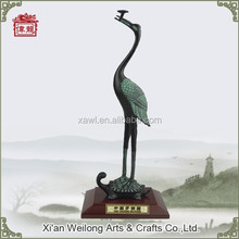 2015 The Most Famous Chinese gift 40CM Cast Bronze Crane Statues HQY703