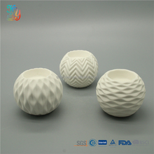 Different types of white small candle holders ceramic wholesale