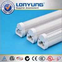 ETL 1200mm 18w t5 led fluorescent tube light joinable brackets