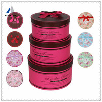 Mountain Red Candy Round Box for Wedding Favor GIfts