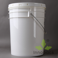 industry usage 5 gallon plastic bucket/pail manufacturer paint container supplier