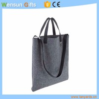 Custom OEM Toto bag felt with leather promotional gifts