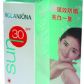 hot product with SPF 30 whitening light sunscreen lotion PA+++ Private label acceptable