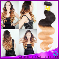 Two tone ombre remy hair weaving human hair in new york