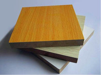 White Glossy or Matte Polyester Plywood / Block Board / MDF Board
