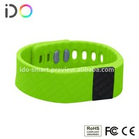 New Products Waterproof wireless bluetooth bracelet watch with wristband pedometer