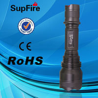 High Brightness Police LED Flashlight Rechargeable