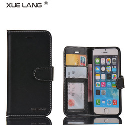 Magnet Wallet flip Cover PU leather case for samsung galaxy note 2