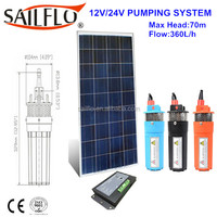Sailflo 6l/min 12V 24V dc submersible water pump price india/high pressure hot water submersible pump