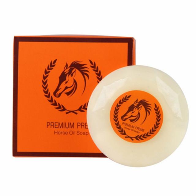Private Label Handmade Organic Korea Whitening Horse Oil Soap