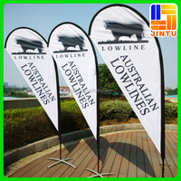 Festival Flags and Banners custom design 100% polyester