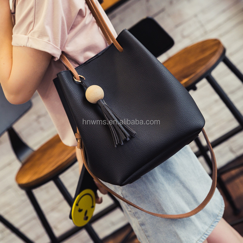 Winmax cheap bucket bag women shoulder sling bag for teenagers