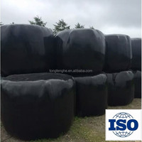 Black Waste Bale Wrapping Plastic Film
