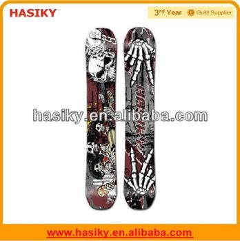 2014 Adult Wooden New Design Snowboards with Binding and Booot