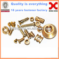 Brass screw bolts nut Welding brass screw
