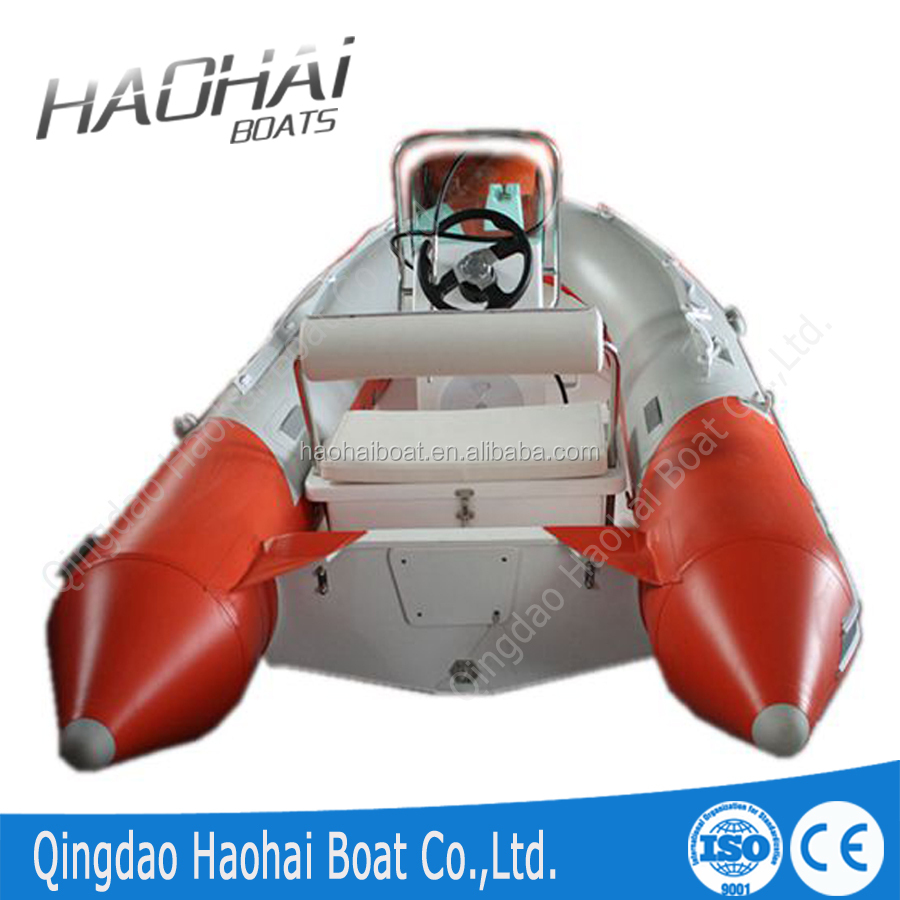 CE approved 4.8m 6 person inflatable RIB boat