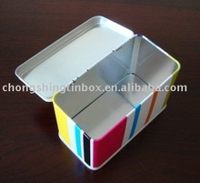 Rectangular food tin container house