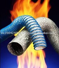 Flame and Heat resistant Industrial Hoses - MADE in Germany