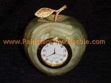 Onyx Apple Clock manufacture wholesaler and exporter from Pakistan