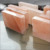 Rectangular pink himalayan salt blocks