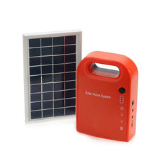 Christmas present new portable solar home kit with lighting and mobile phone charger