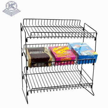 3 layers durable cosmetic countertop display stand