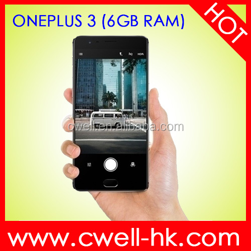 Oneplus 3 6GB RAM 5.5 Inch FHD Touch Screen Ultra Slim Metal Boday android 6.0 phone